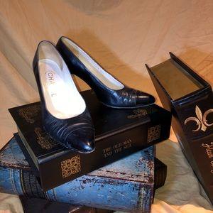 Vintage Black Chanel Heels